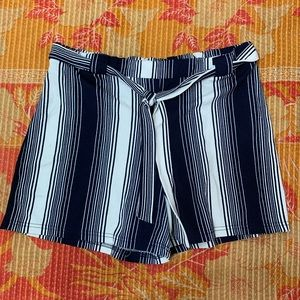 Hot Kiss Striped Shorts Size 2X